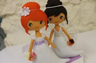 1 MUÑECOS novias