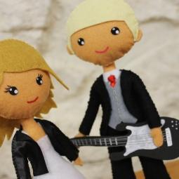 Muñecos rockeros-S&B